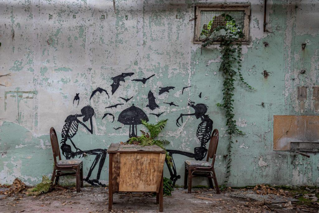 Skeletter til bords - Urban Explore WooW Galleriplakater